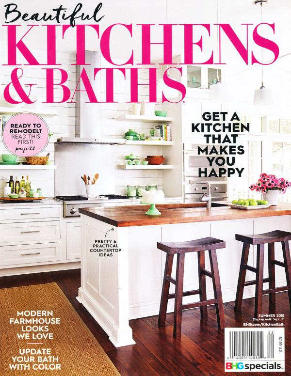 Beautiful Kitchen and Bath Cover Summer 2018