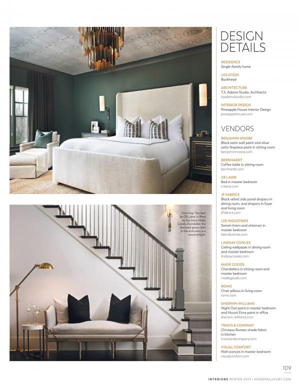 Interors Modern Luxery Feb 2019 page 109