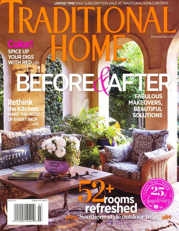 Traditional Home Cover Feb Mar 2014