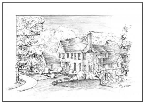 2248 Randall Mill Lot 1 Perspective