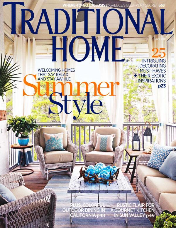 Traditional Home June 2017